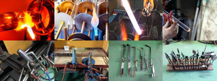 ガラス管・精密細管・精密切断・ガスバーナー加工